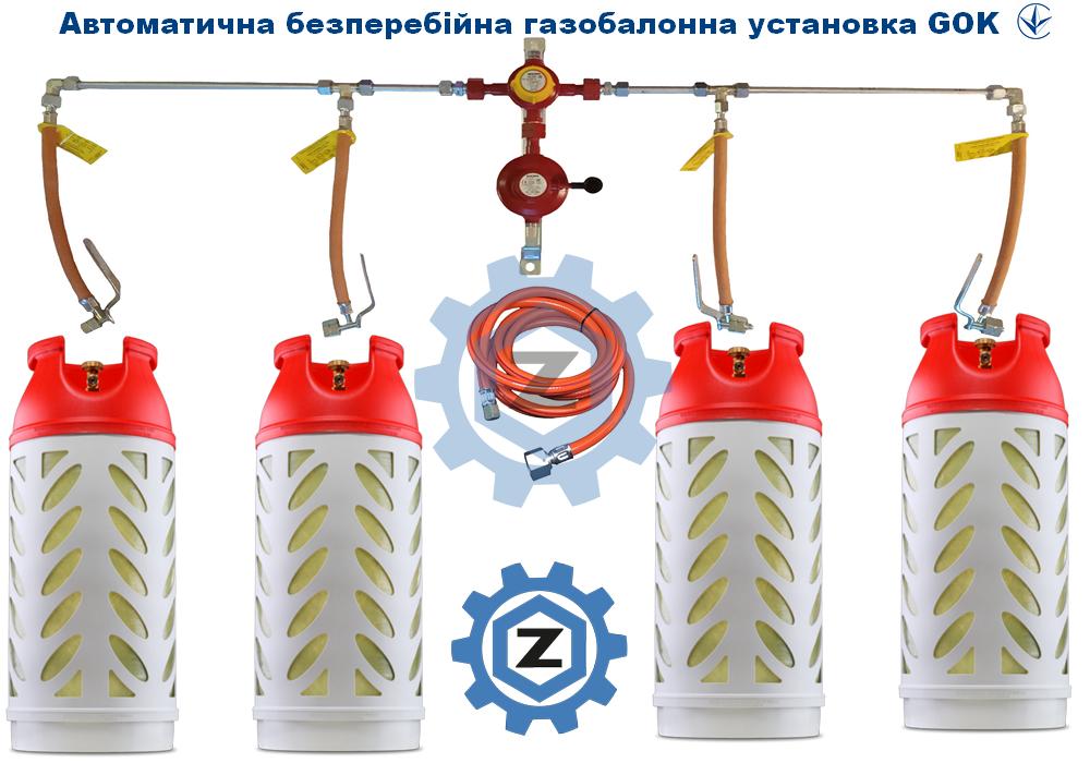 Газобалонна установка ГОК