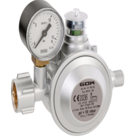 Газовий регулятор тиску GOK EN 61-DS 1,5 кг/год 50мбар KLF*G1/4LH-KN