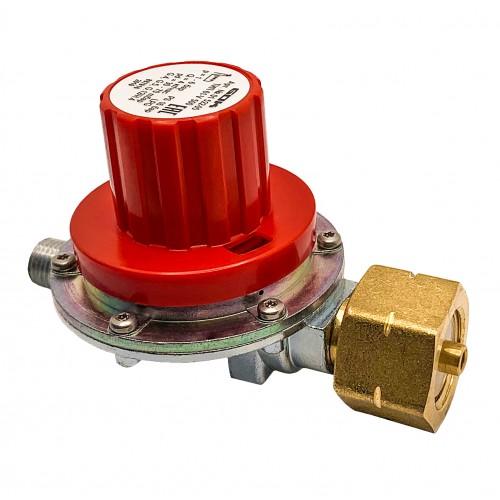 Регулятор регулюємий тиску газу gok 4 кг/час від 30 - до 70 мбар з'єднання Komb.Ax вихід G 1/4 LH-KN