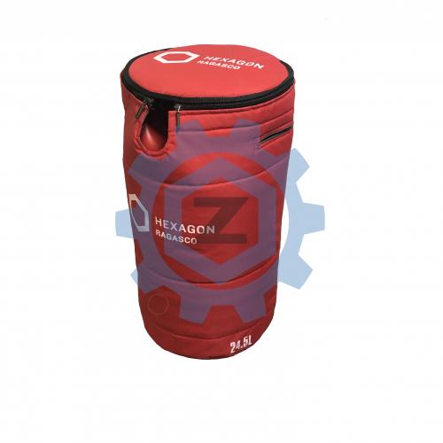 Текстильний захисний чохол для газового композитно полімерного балону HEXAGON RAGASCO 24,5л