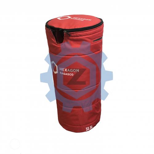 Текстильний захисний чохол для газового композитно полімерного балону HEXAGON RAGASCO 33,5л