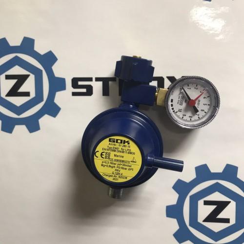 Газовий регулятор GOK EN61 0,8 кг/год 30 mbar KLFxG1/4LH-KN