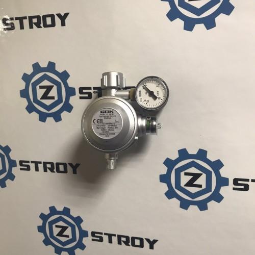 Газовий двухкамерний регулятор GOK EN61-DS 1.5 кг/час 29 (30) мбар KLF*G1/4LH-KN