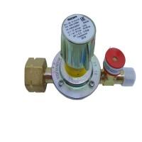 Регулятор тиску газу GOK M50-V/SBS 12кг/год 0,5-4бар Komb.A x G3/8LH-KN SBS шкала