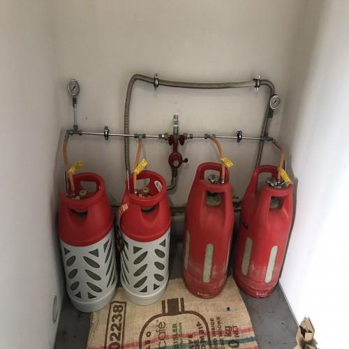 Монтаж газобалонної установки