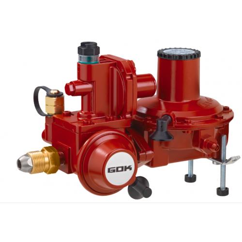 Регулятор тиску газу з ПЗК та ПСК до газгольдера POL * IG G 3/4 50 мбар 20 кг.ч