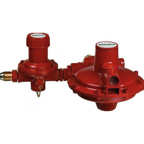 Регулятор тиску газу з ПСК POL * IG G1 50 мбар 24 кг.ч