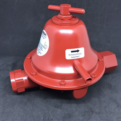 Регулятор тиску газу 20 кг/год 20-500 мбар IG G1/2 * IG G3/4 ЗСК ре до 4 бар