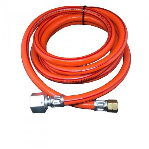 """Шланг газовий для з""""єднання обладнання 1/4L - 1/2R 2.5м, 9мм"""