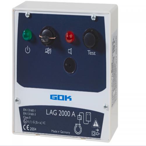 Пристрій безпеки про виявлення витіку LAG 2000 A