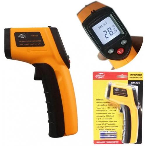 Лазерний ІЧ цифровий термометр, пірометр Benetech GM320
