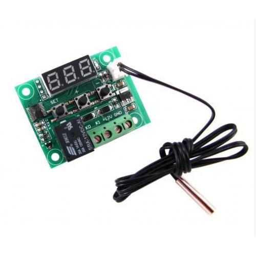 Цифровий міні термостат W1209, -50 ~ 110С, 10А, 12В