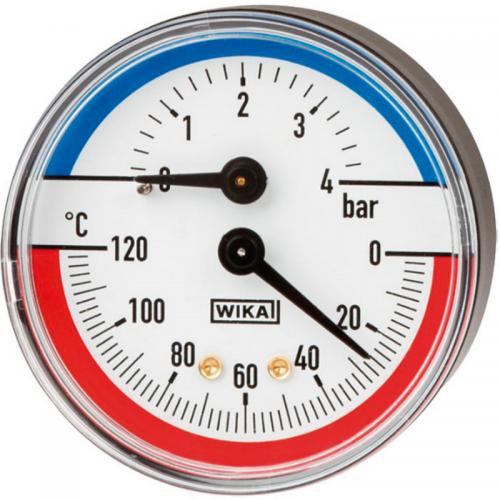 Термоманометр 100.02 80мм