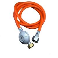 Комплект для під'єднання газового балону 1,5 кг/год 30 мбар, L шлангу 2 м