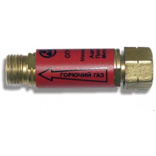 Клапан зворотній вогнезапобіжний , А/П/М,  М12х1,25LH, редуктор