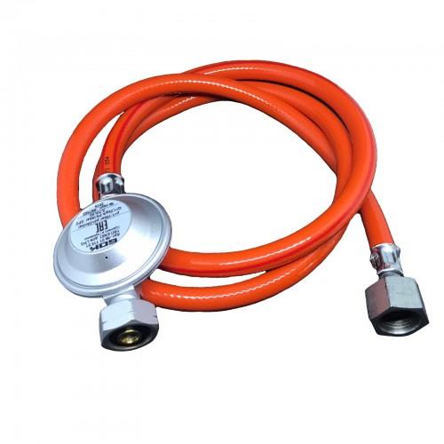 Комплект для під'єднання газового балону GOK Shell 1,5 кг/год 37 мбар G1/2 - 2 метр