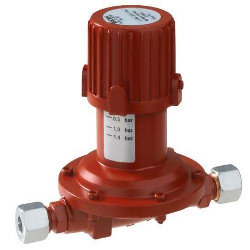 Регулятор середнього тиску газу 016 PS 2.5 bar RVS12*RVS12 0.02-1.4 bar 6кг/год