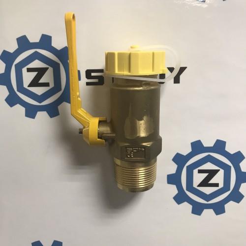 Клапан для заповнення тип FVK PS 25 бар AG 1 1/4 NPT x AG 1 3/4 ACME PL