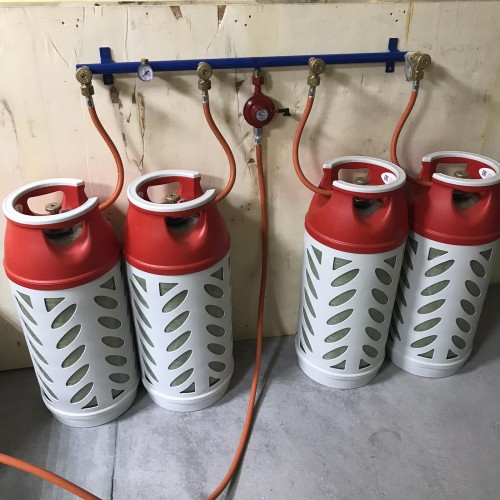 Газобалонка на 4 балона газорозрядна Cavagna Group