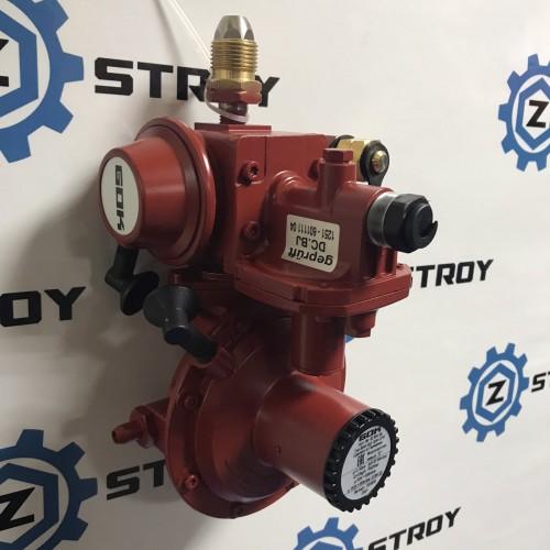 Регулятор тиску газу 4 кг/год 50мбар GF x G1 / 2LH-KN ПЗК Тип FL90-4