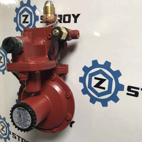 Регулятор тиску газу 4 кг/год 37мбар GF x G1 / 2LH-KN ПЗК Тип FL90-4