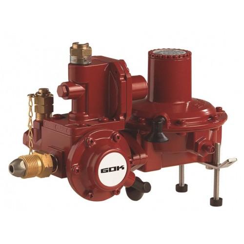 Регулятор тиску газу з ПЗК та ПСК POL * RVS 18мм 50 мбар 12 кг/год