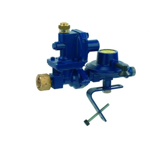 Морський регулятор тиску газу з ПЗК та ПСК Комбі.А перехід на G 1/2 LH-KN 30мбар 2,5кг/год