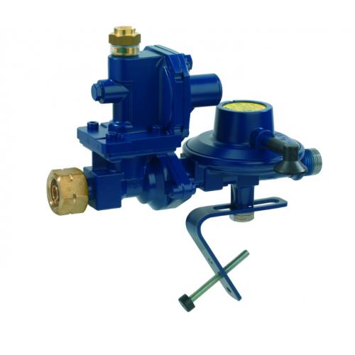 Морський регулятор тиску газу з ПЗК та ПСК Комбі.А перехід на G 1/2 LH-KN 50мбар 4,0 кг/год