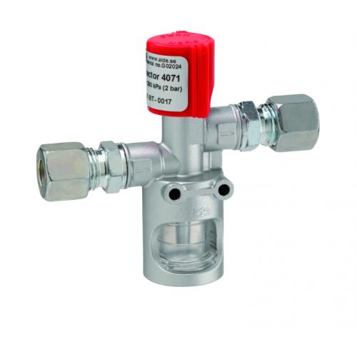 Контрольний сигналізатор GOK виявлення пошкодженої системи газопровода RVS10 * RVS10