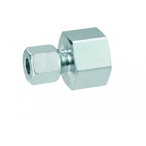 Газовий адаптер перехідник для труб RVS 8 перехід на внутрішня 1/2 праву різьбу