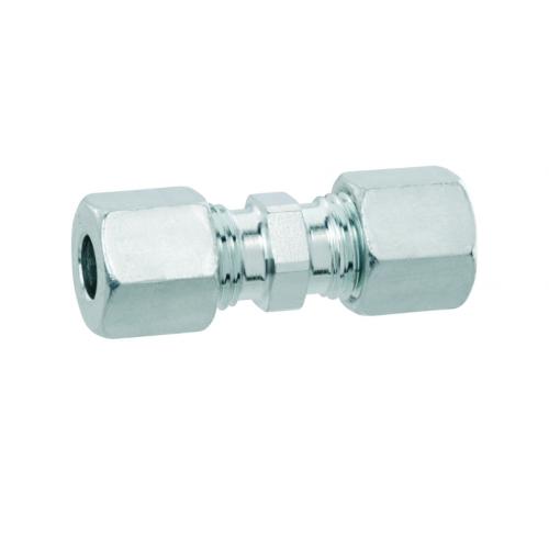 Газовий адаптер прямий для труб, G-RVS10 * RVS10 для зєднання труби діаметром 10мм