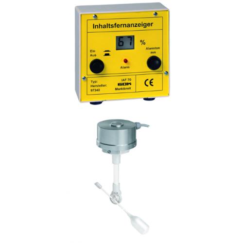 Єлектронний дистанційний показник рівня заповнення газової ємності Rochester Junior
