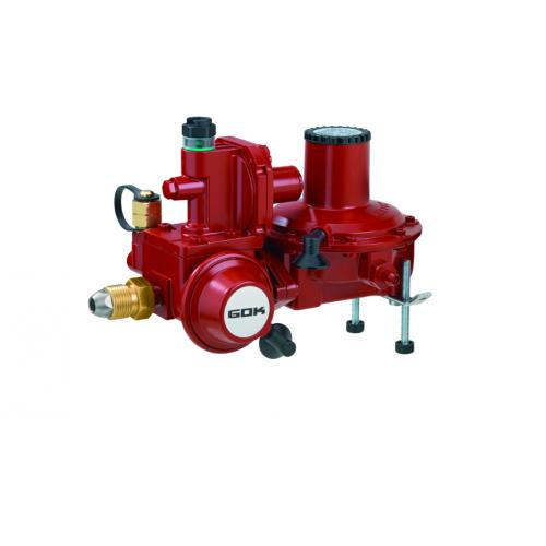 Регулятор комбінований эмності газу для прямого підключення до газгольдера з ПСК та ПЗК POL IG G 3/4 37 мбар 12 кг/год