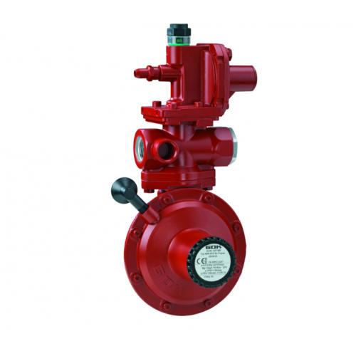 Регулятор ємності 2- ступені газу для підключення до газгольдера з ПСК та ПЗК IG G 3/4 - IG G 3/4  50 мбар 24 кг/год