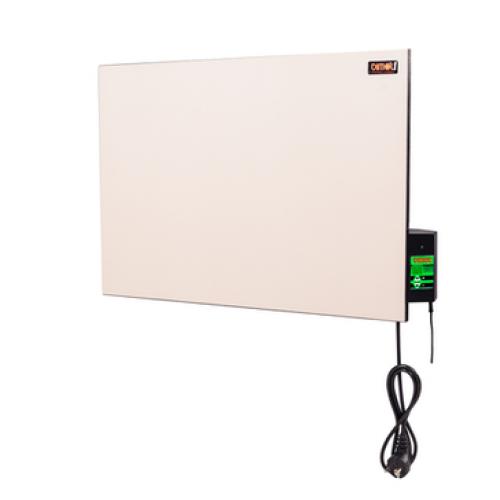 Керамічна панель ТМ DIMOL Mini 01, кремова / з терморегулятором