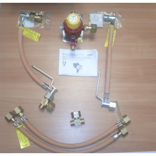 Газобалонка GOK на 4 балона, 4 кг/год 50 мбар (автоматична на м'якій основі)