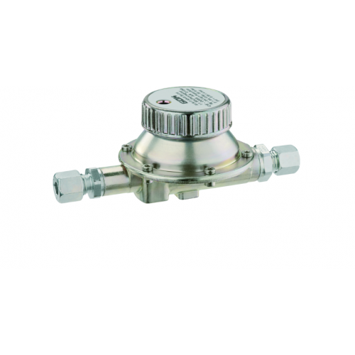 Регулятор середнього тиску газу 016 PS 16bar RVS8*RVS8 0.35-1.4bar 3кг/год